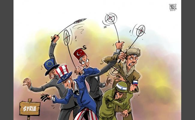 Странная сирийская война