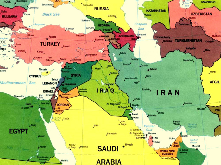 Большой Ближний Восток новый феномен геополитической активности современного миропорядка