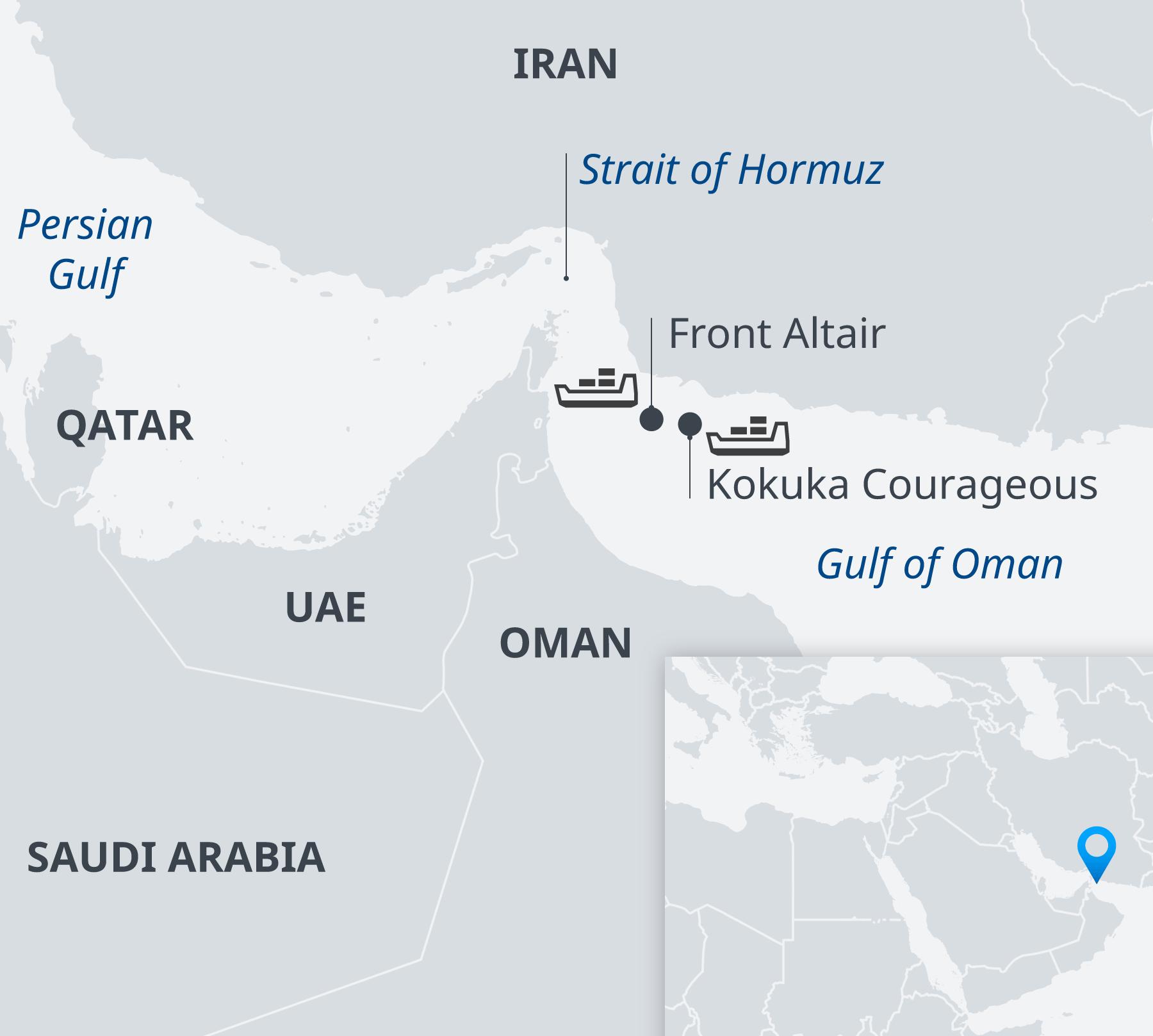 Напряженность в Оманском заливе – кто атаковал танкеры?