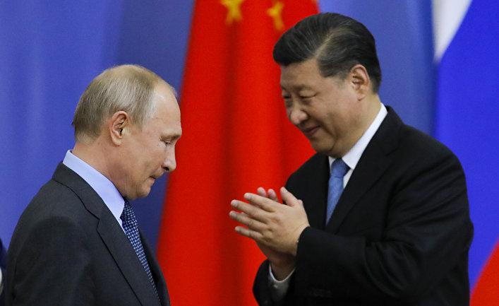 Деятельность России и Китая на Ближнем Востоке
