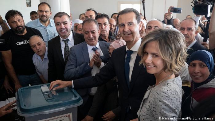 Итоги президентских выборов в Сирии